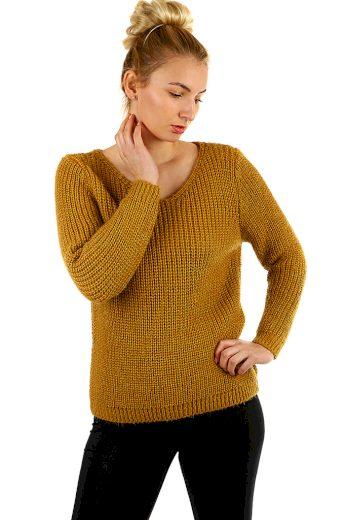Dámský pletený svetr