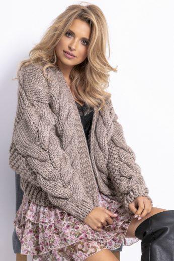 Huňatý vlněný svetr