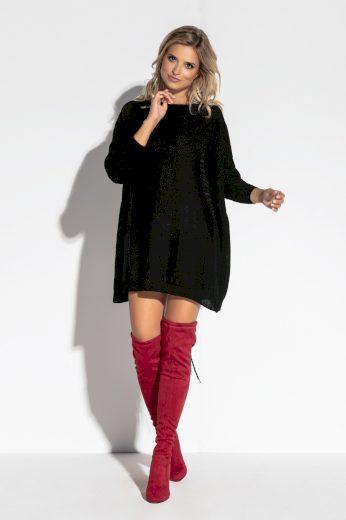 Velký dámský svetr s kapsami