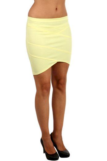 Dámská pouzdrová asymetrická sukně