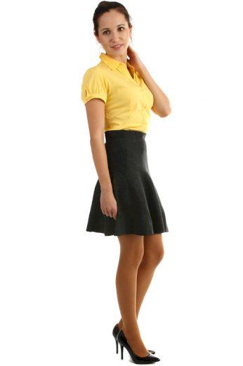 Dámská krátká úpletová sukně