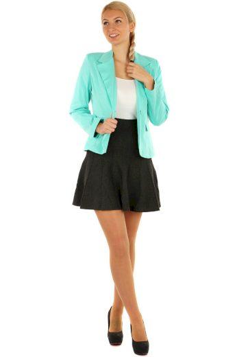 Dámská úpletová mini sukně