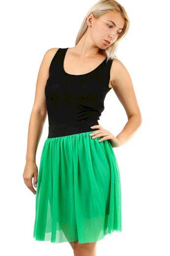 Dámská zelená krátká sukně