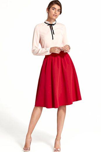 Dámská áčková jednobarevná sukně