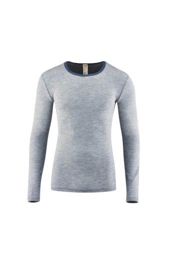 Funkční pánské tričko z vlny a hedvábí