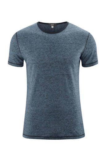 Lněné pánské triko s krátkým rukávem