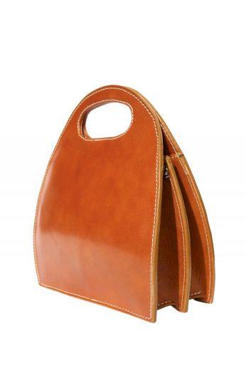 Kožená kabelka s uchem