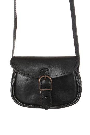 Dámská mini kabelka z pravé kůže