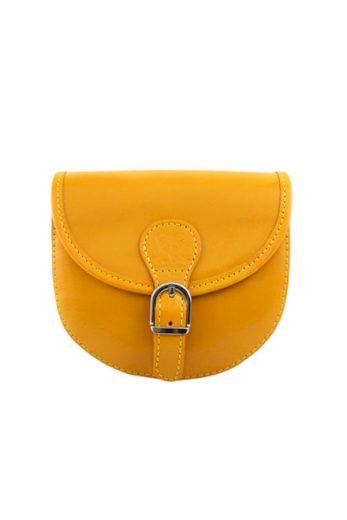 Malá crossbody kožená kabelka