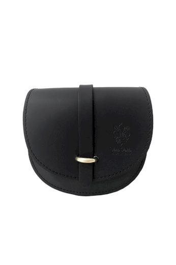 Půlkulatá crossbody kabelka