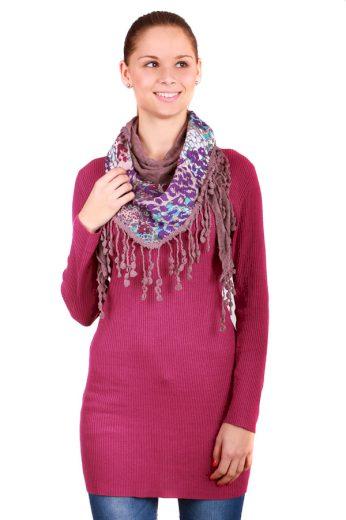 Stylový, hřejivý šátek