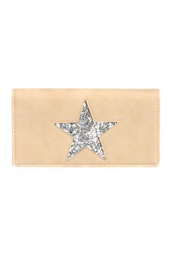 Koženková peněženka s hvězdou