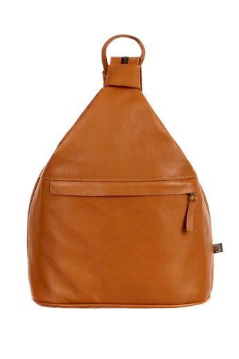 Dámský městský kožený batoh/kabelka na jedno rameno 3v1 - velký - Česká výroba