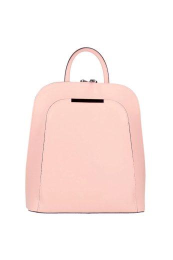 Městský batoh a kabelka v jednom z pravé kůže