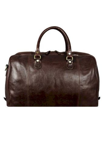 Cestovní taška z pravé kůže Time Resistance