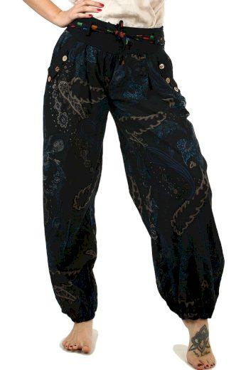 Dámské turecké kalhoty se vzorem