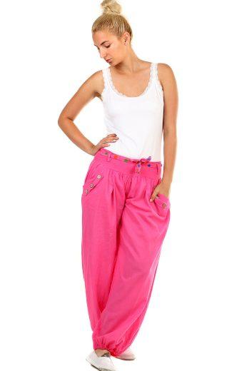 Harémové dámské kalhoty