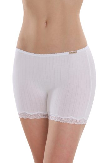 Biobavlněné kalhotky s nohavičkami