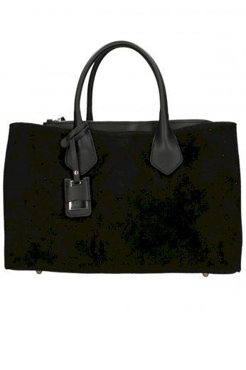 Velká kožená kabelka do ruky Exclusive