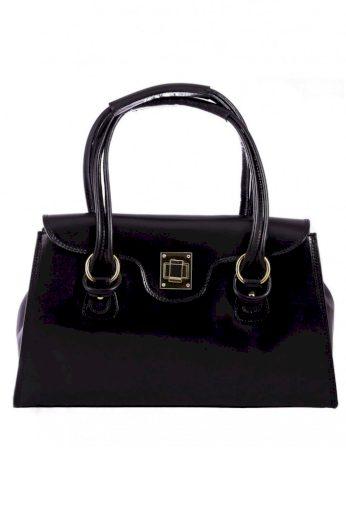 Elegantní kožená kabelka