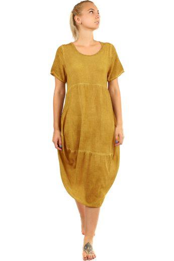 Letní plážové oversize šaty
