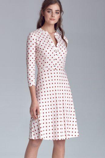 Puntíkaté retro šaty