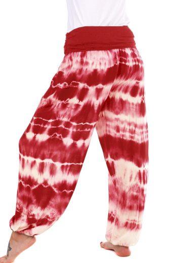 Dámské batikované harémové kalhoty