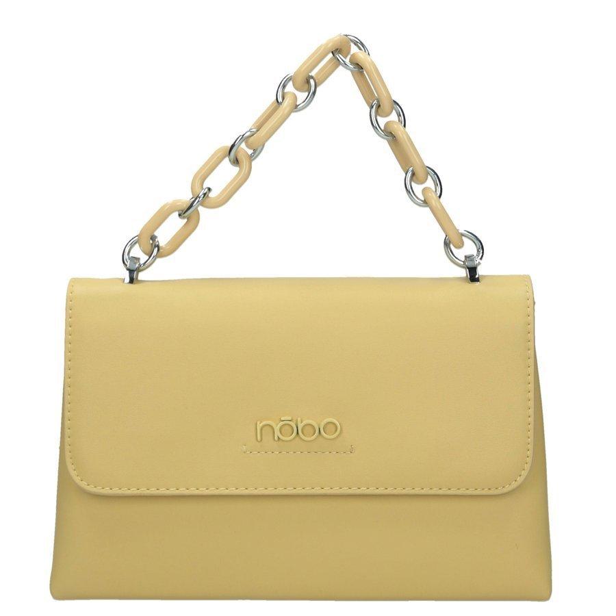 Elegantní a kompaktní kabelka malá pošťácká taška ekokůže NOBO