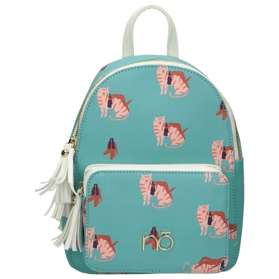 Dámský barevný batoh NOBO mladistvý batůžek ekokůže