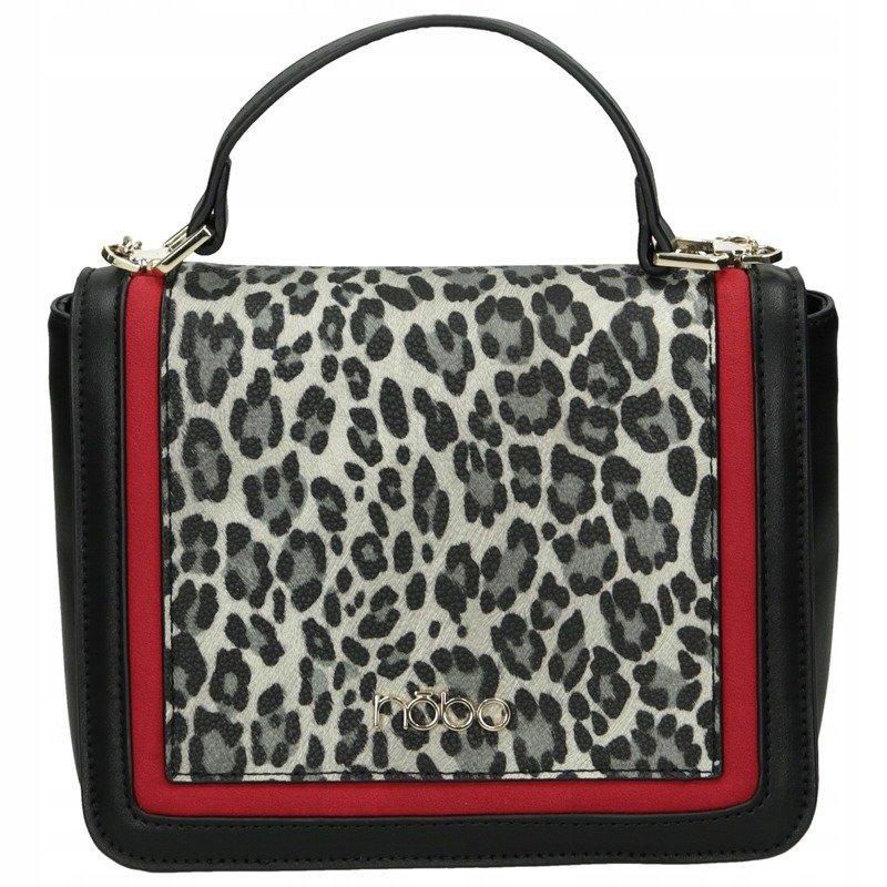 Malá leopardí kabelka NOBO s řetízkem