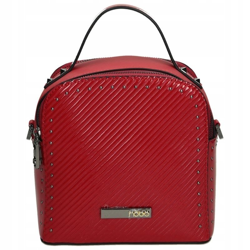 Malá dvoukomorová taška s nýty NOBO