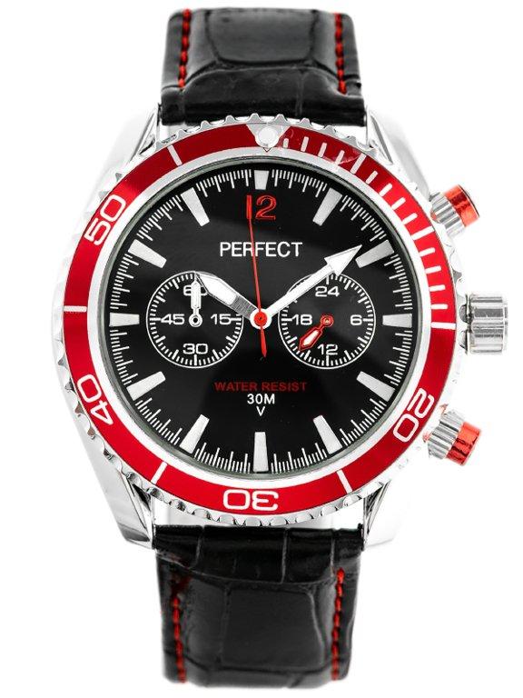 Pánské hodinky PERFECT OWEGA - černé (zp165c)