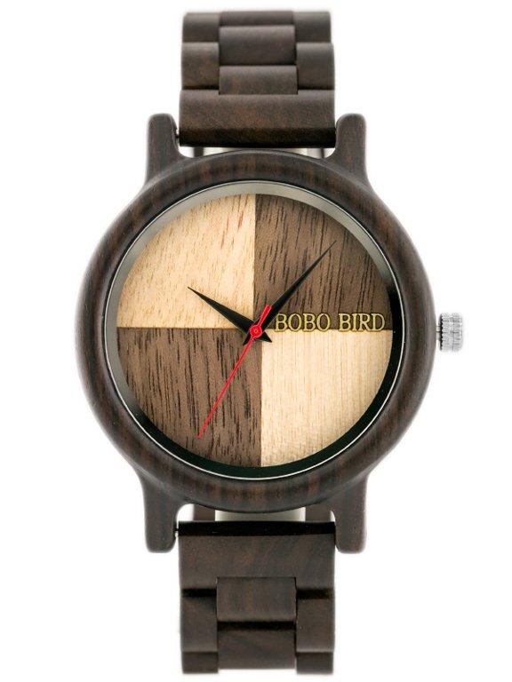 Pánské hodinky dřevěné BOBOBIRD (zx058a)