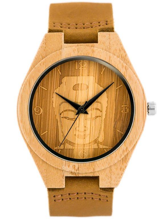 Pánské hodinky dřevěné (zx060a)