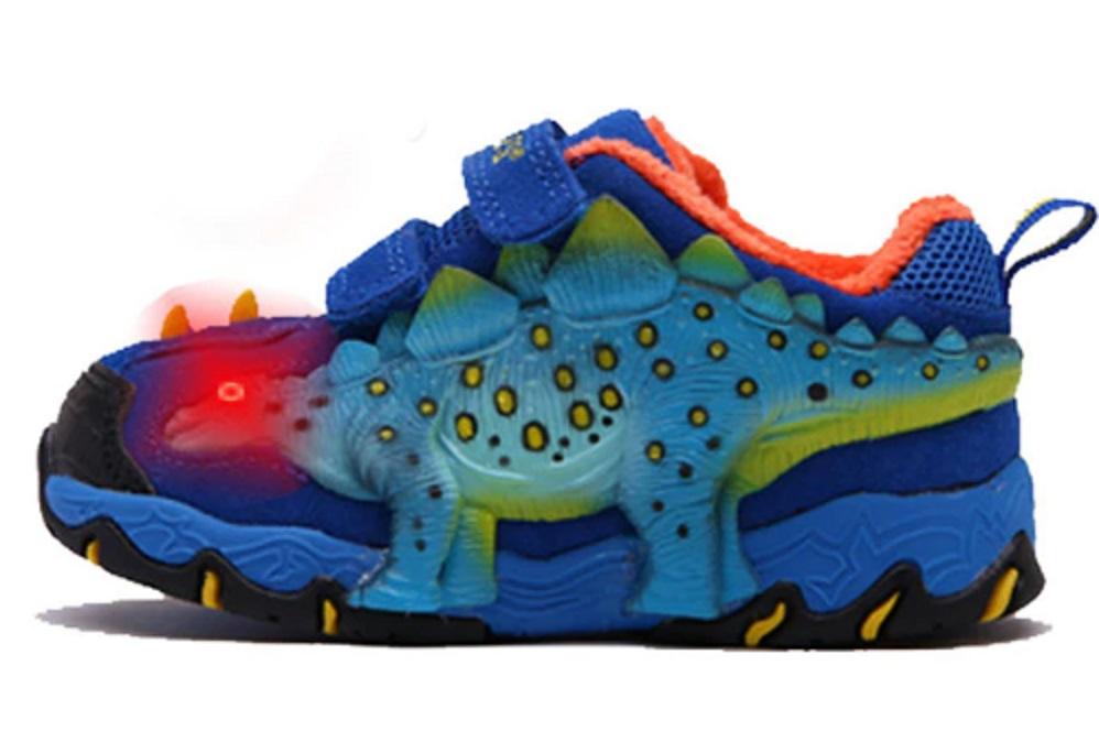 Chlapecké zimní boty s dinosaurem FashionEU