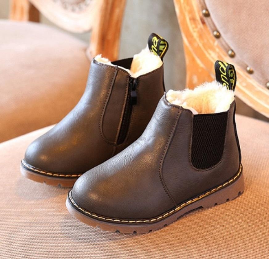 Dětské zimní kotníkové boty A1554 FashionEU
