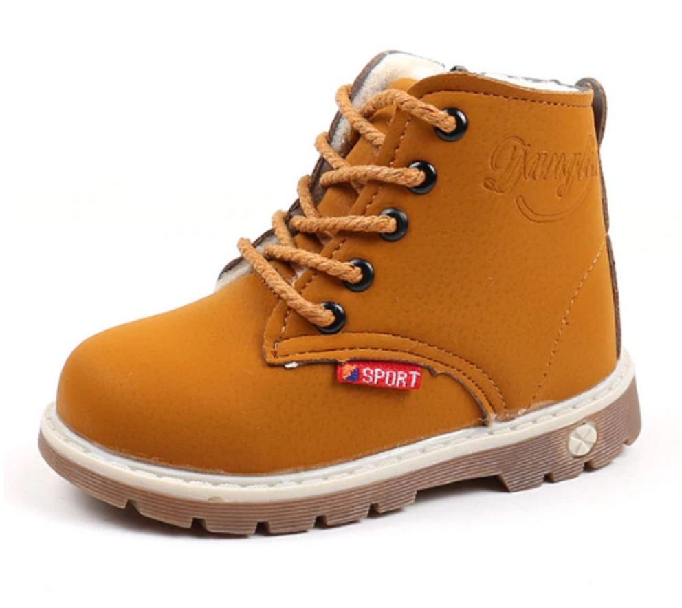 Dětské zimní boty kotníkové FashionEU