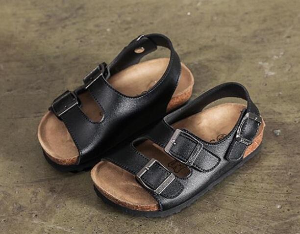 Dětské korkové pantofle FashionEU