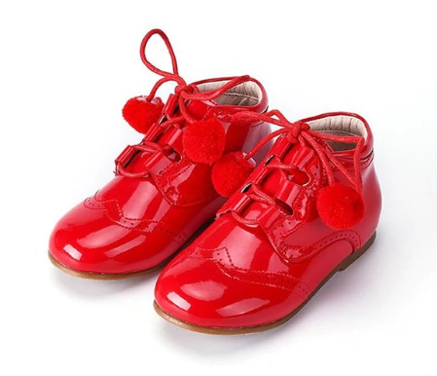 Dívčí lakované boty FashionEU