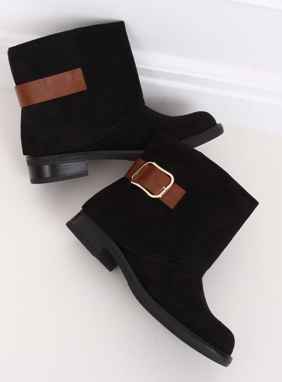 Černé dámské boty UK19P