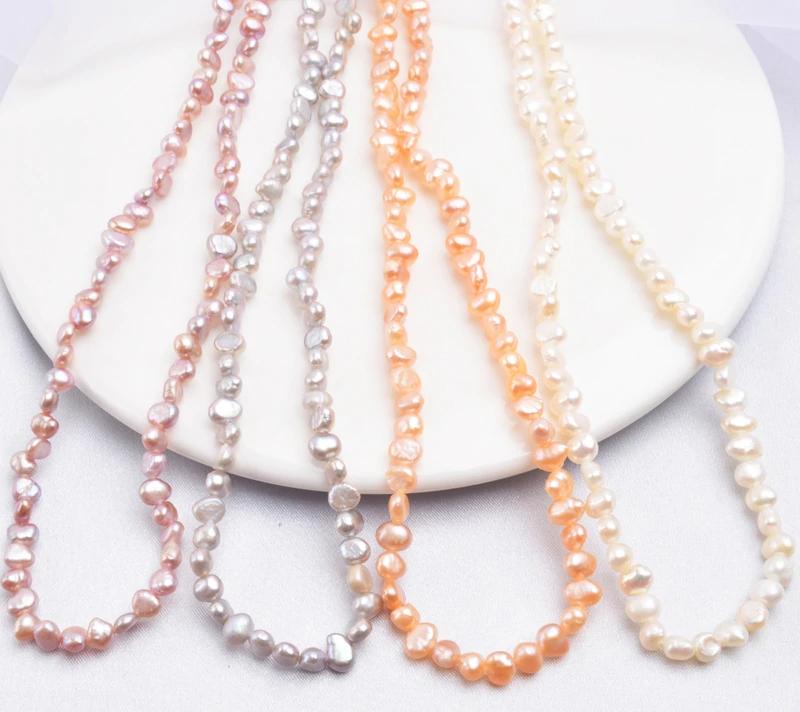 Dámský elegantní náhrdelník ze sladkovodních perel