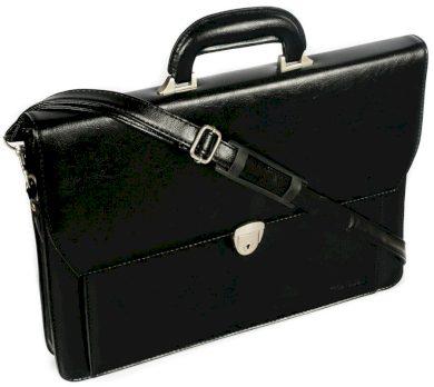 Černá pánská eko taška Cavaldi A4