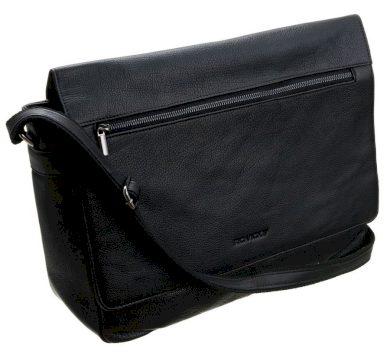 Kožená sportovní taška na notebook prostorná business taška Rovicky