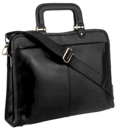 Pánská a dámská aktovka pracovní kožená taška na notebook