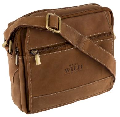 Pánská městská vintage taška přes rameno Always Wild