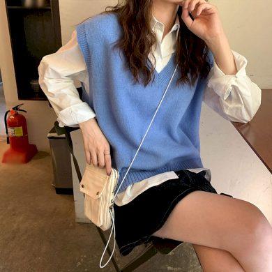 Dámská pletená vesta G221 FashionEU