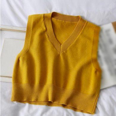 Dámská pletená vesta A2356 FashionEU
