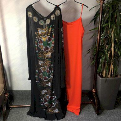 Dvoudílné šaty dlouhé FashionEU