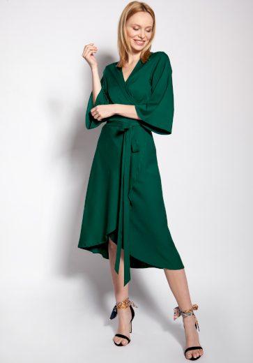 Zavinovací šaty s obálkovým výstřihem SUK186 LANTI