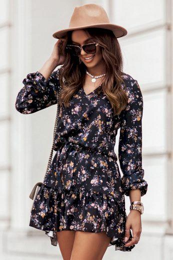 Letní boho šaty RENEE s volánky IVON